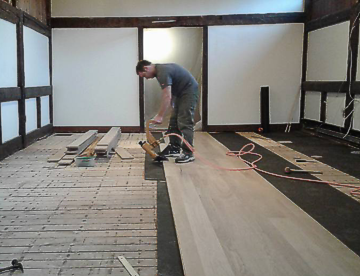 floor installation southern vermont